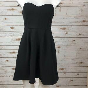 Forever 21 strapless dress (binA3)
